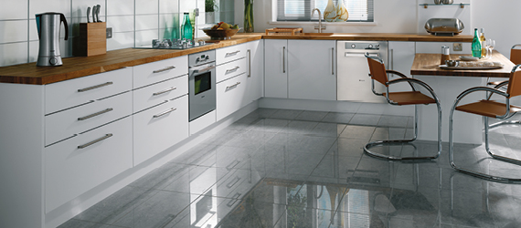 Eagle Polished Porcelain Kitchen Tiles by GEMINI from CTD Tiles