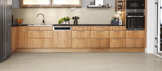 Pietra Pienza Sandstone Effect Kitchen Tiles by GEMINI from CTD Tiles