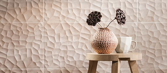 Handcrafted Sandstone Effect Wall Tiles by GEMINI from CTD Tiles