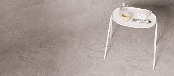 Quarz Slate Floor Tiles by GEMINI from CTD Tiles