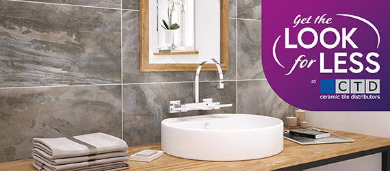 Stoneware Get The Look For Less - Wall Tiles by GEMINI from CTD Tiles