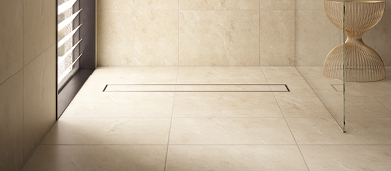 Element Travertine Floor Tiles by GEMINI from CTD Tiles