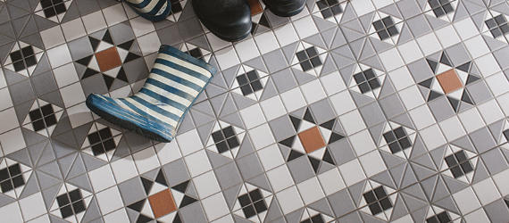Victorian Heritage Victorian Bathroom Tiles by GEMINI from CTD Tiles