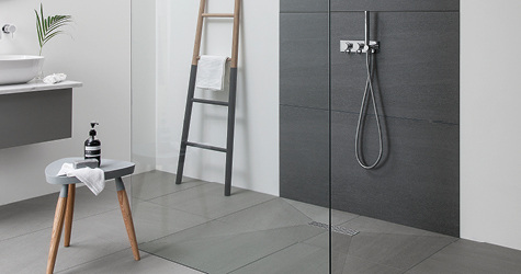 Kursaal Wet Room Floor Tiles by GEMINI from CTD Tiles