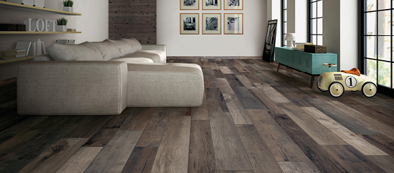 Wood Effect Floor Tiles by GEMINI from CTD Tiles