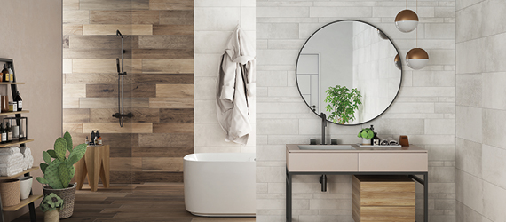 Wood Effect Wall Tiles by GEMINI from CTD Tiles