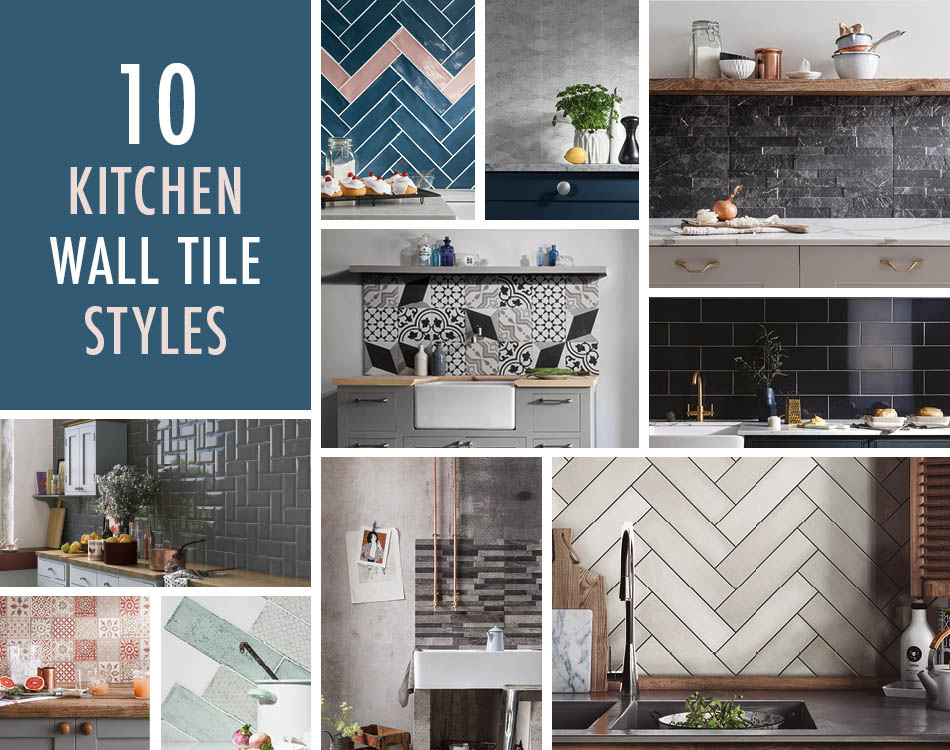 10 Kitchen Wall Tile Styles Modern Tiles Ideas