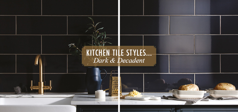 Dark decadent tiles from Gemini