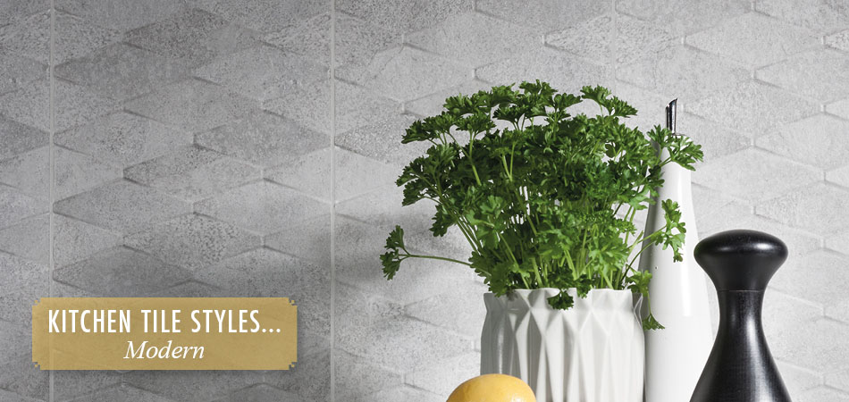 Modern kitchen tiles from Gemini