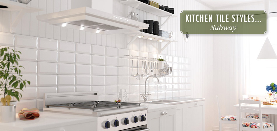 Subway kitchen tiles from Gemini