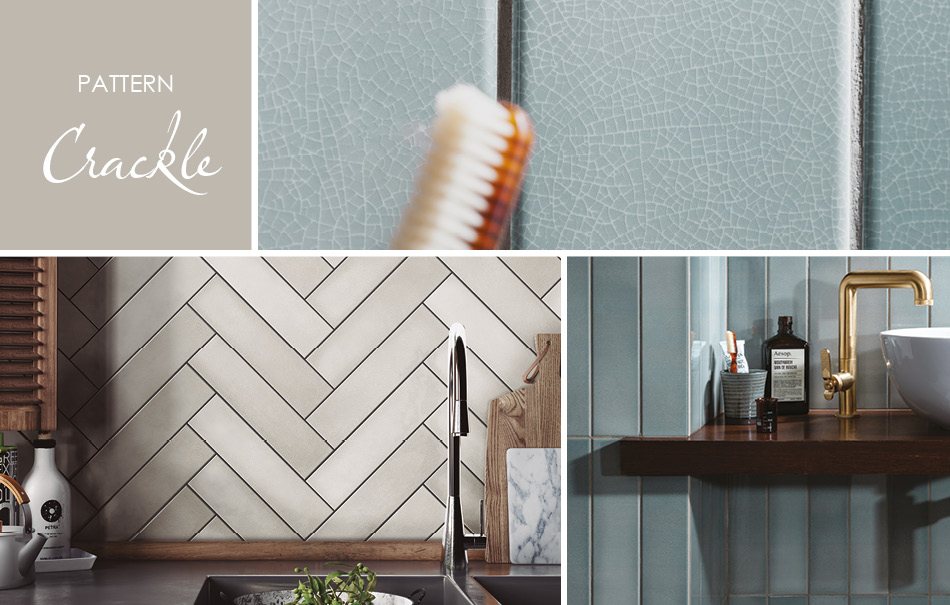 Crackle Patterned Tiles by Gemini