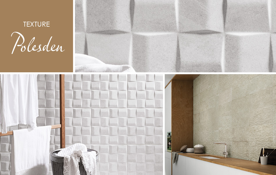 Polesden Textured Tiles by Gemini