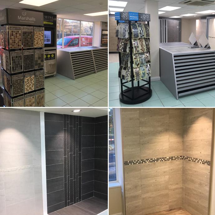 tile display at Carlilse
