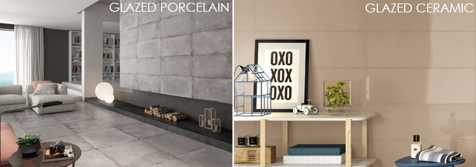 The Difference Between Ceramic And A Porcelain Tiles