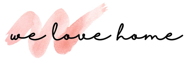 we love home blog logo