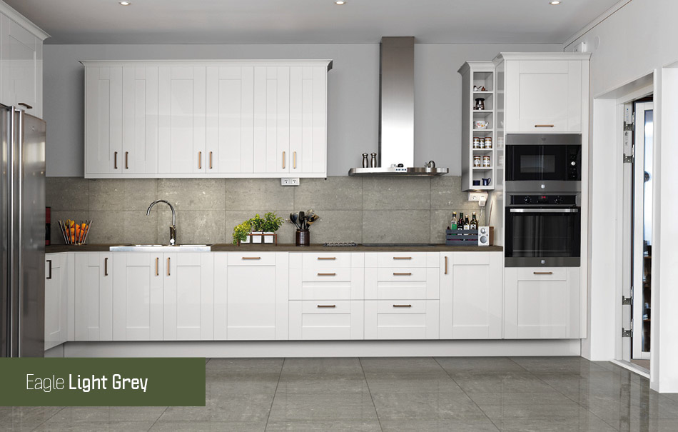 Eagle Light Grey Polished Wall and Floor Tiles from Gemini