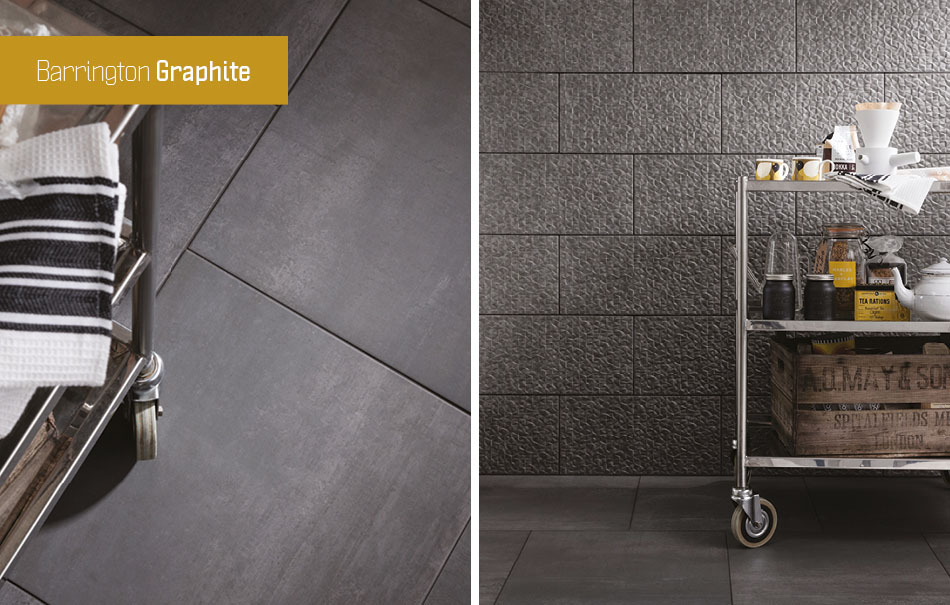 Barrington grey floor tiles by Gemini