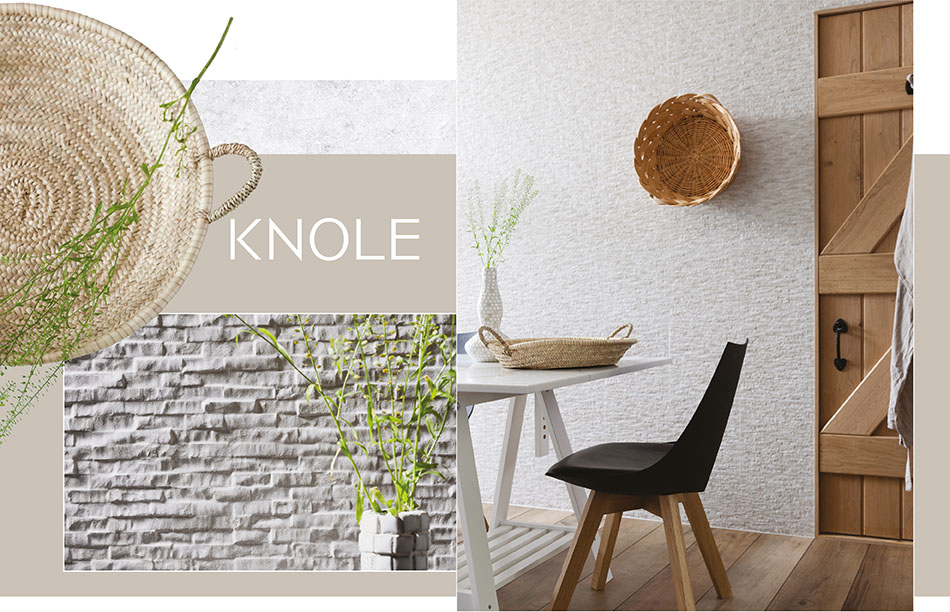 Knole wall tiles by Gemini.