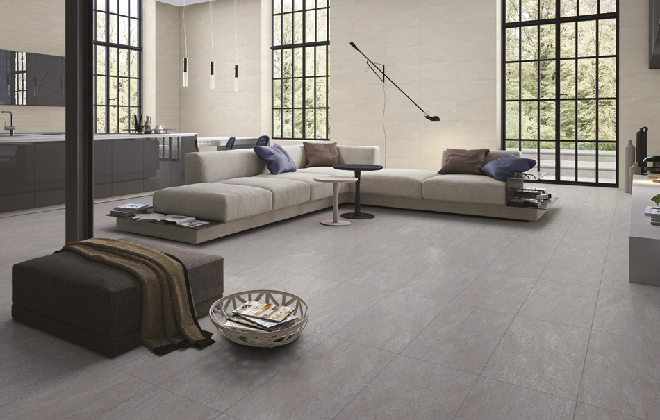 Picture of Pietra Pienza large format tiles