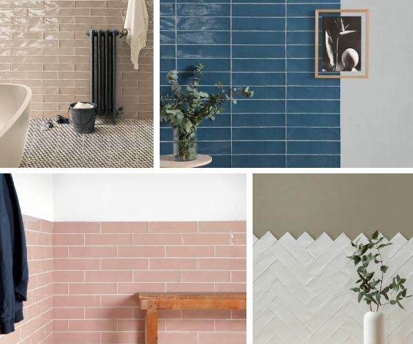 Gloss Metro Brick Tiles