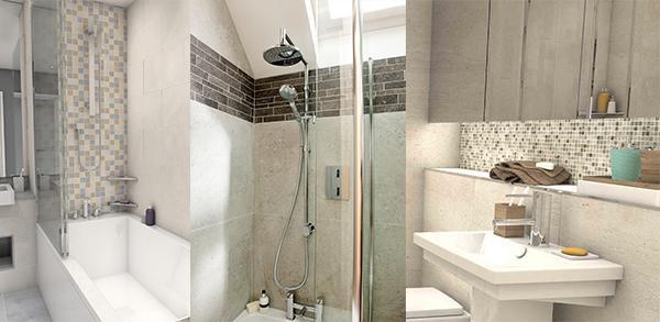 Tile Ideas for Small Bathrooms - Bathroom Tiles Ideas For ...