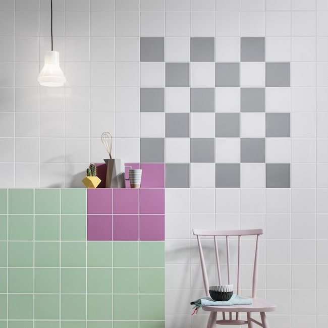Mix and match Square tiles