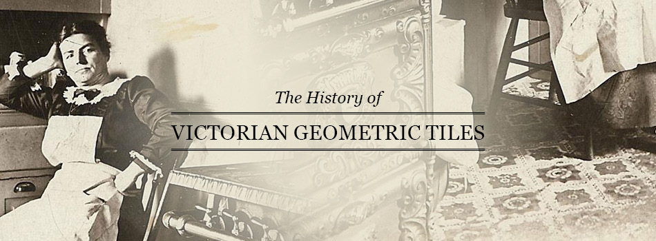 Picture of historical Victorian geometric tiles