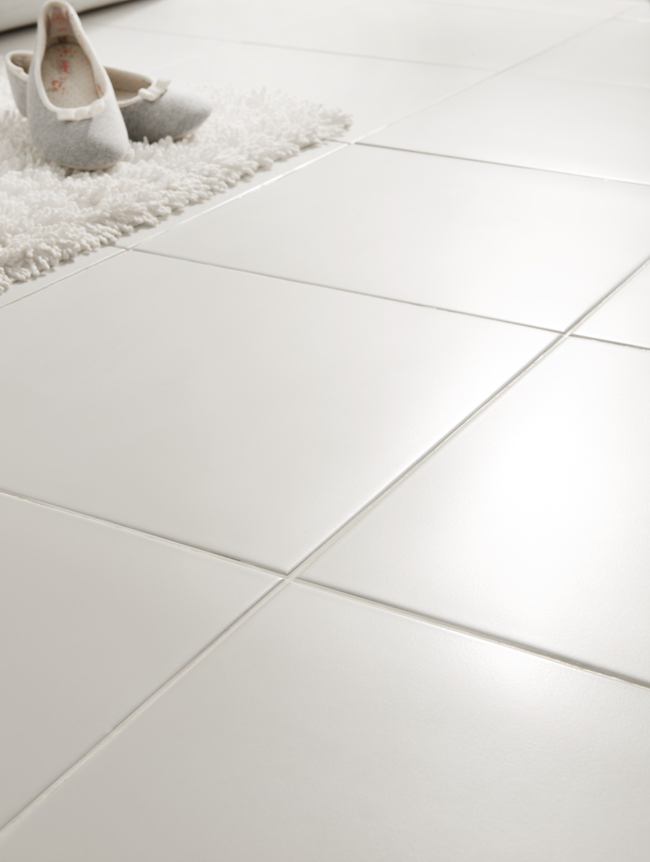 White Square Tile Ideas - Small or Large Format Industrial