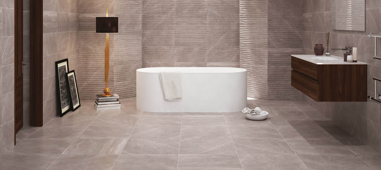 British Stone Wall and Floor Tiles