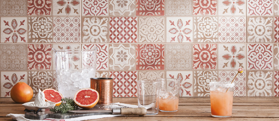 Frame Wall Tiles and Patterned Décors