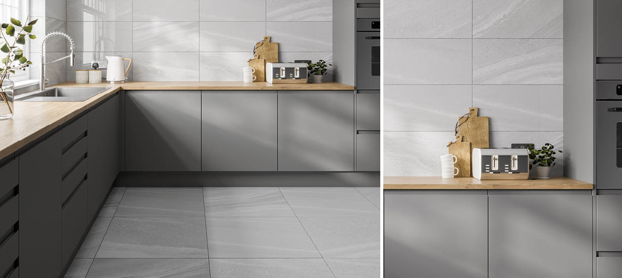 Pescara Glazed Porcelain Wall and Floor Tile