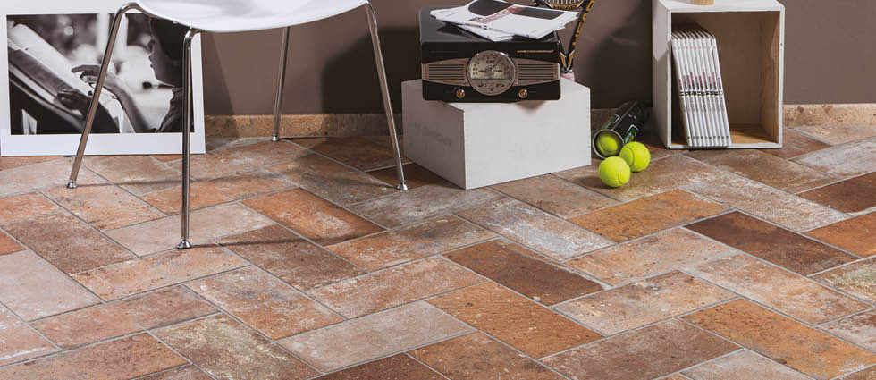Kitchen Tiles, Bristol | Brick effect wall and floor tile