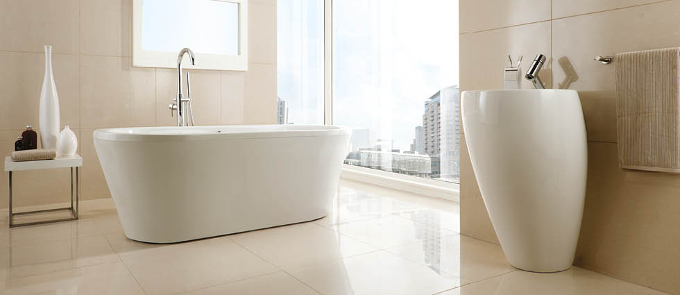 Niro Polished Porcelain For Bathrooms