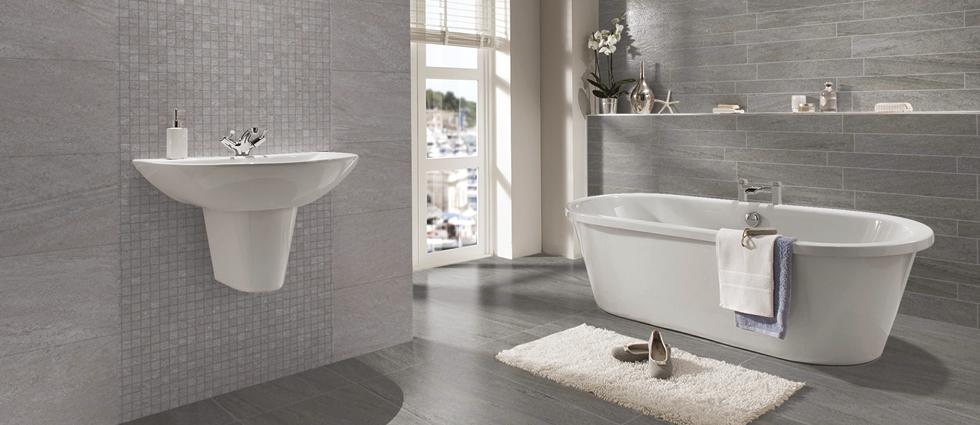 Pietra Pienza Bathroom Tiles. Pietra Pienza Bathroom Tiles   Grey  Beige  Black Tiles   D cor Tiles