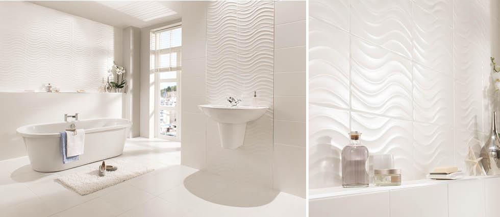 Streamline Glazed Ceramic Wall Tiles By Vitra