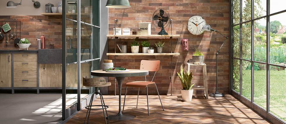Terramix | Kitchen wall and floor tiles