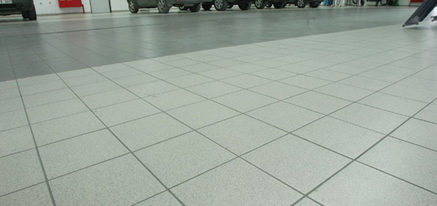 Arkitect Dotti hard wearing floor tiles