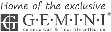Home of the exclusive GEMINI wall and floor tile collection