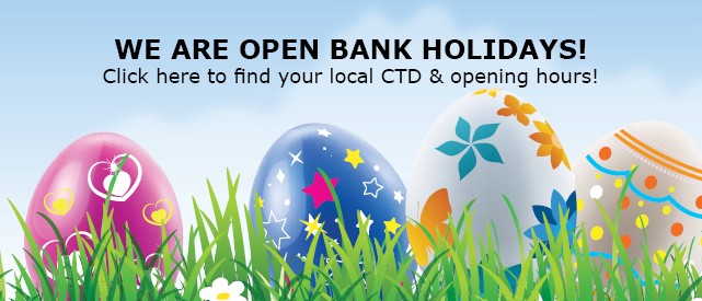 We are Open Bank Holidays