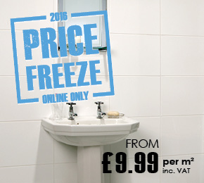 2016 Price Freeze - From £9.99 per m2 inc VAT