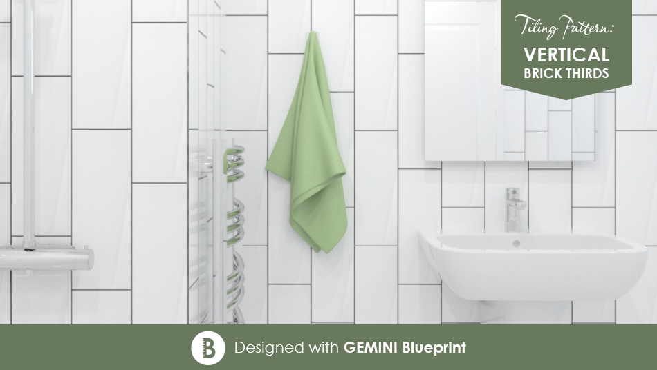 Metro Brick tiles from Gemini