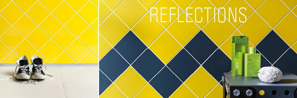 Reflections tiles by Gemini