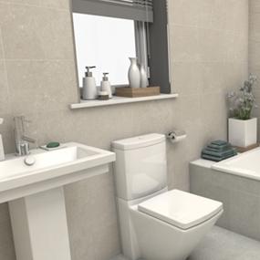 Bathroom Tiles - Floor & Walls Bathroom Tiles by Gemini