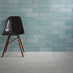 Savoy Leaf Gloss Tile - 300x100mm