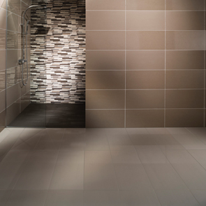 Johnson Tiles Modern Beige Mix Mosaic Strips - 600x300mm