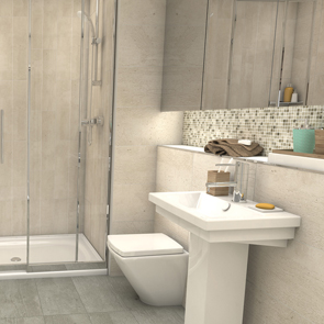 Sherwood Haze Matt Tile - 600x300mm