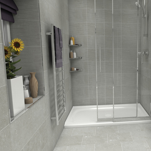 Johnson Tiles Camden Fossil Matt Tile - 360x275x9mm