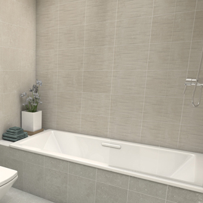 Johnson Tiles Camden Stone Linear 3D Matt Tile - 360x275x9mm