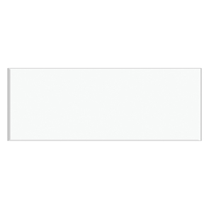 Reflections White Satin Tile - 400x150mm