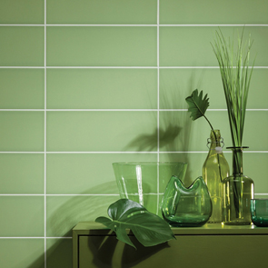 Reflections Pistachio Tile - 400x150mm